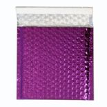 Metallic Purple Foil Bubble Bags (Range of Sizes and Quantities)